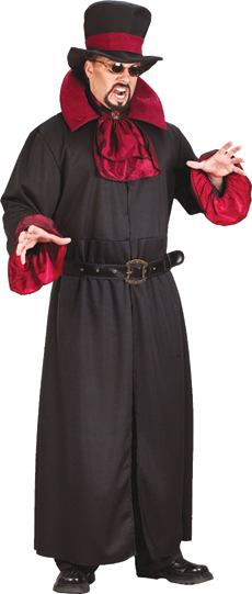 Duke Of Darkness Vampire Adult Costume