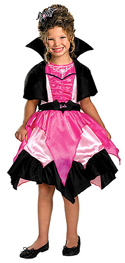 Kids Barbie Vampire Costume