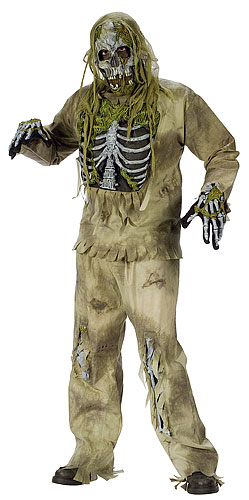 Skeleton Zombie Costume - Click Image to Close