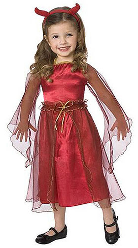 Devil Toddler Costume