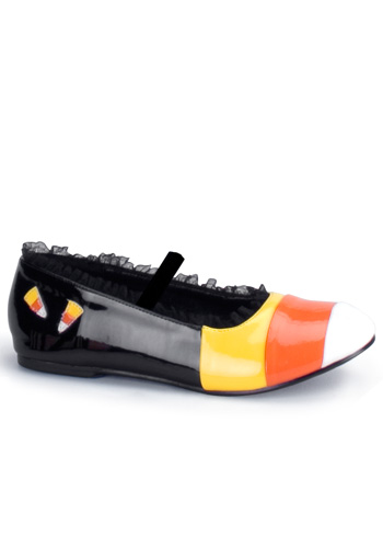 Girls Candy Corn Shoes