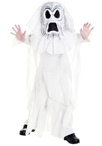 Kids Horrible Ghost Costume  sc 1 st  About Costume Shop Halloween Costumes For Adults and Kids Costume ... & Kids Horrible Ghost Costume - In Stock : About Costume Shop
