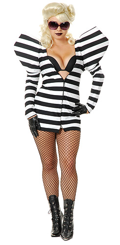 Lady G Prison Dress Costume