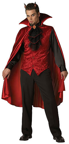 Deluxe Men's Devil Costume