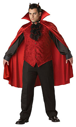Men's Plus Size Devil Costume