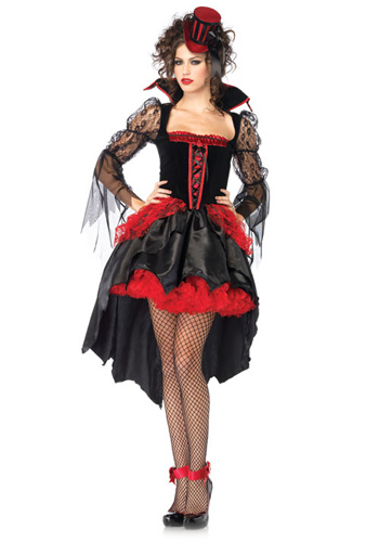 Midnight Mistress Vampire Costume