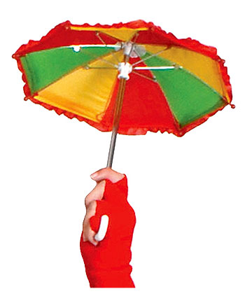 Mini Clown Umbrella