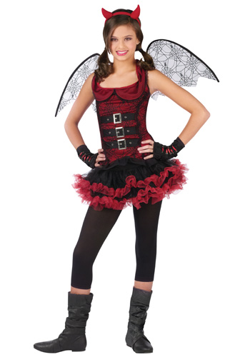 Tween Night Wing Devil Costume