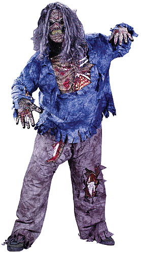 Plus Size Zombie Costume
