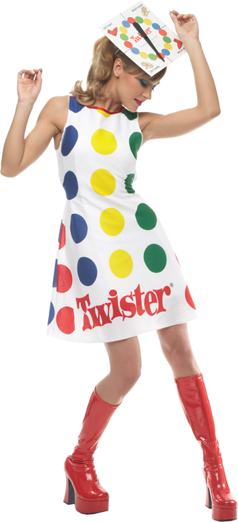 Twister Adult Costume: Large