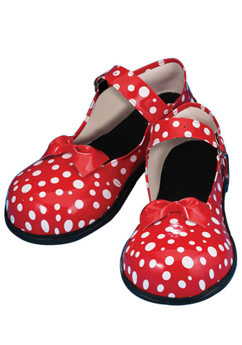 Polka Dot Clown Shoes