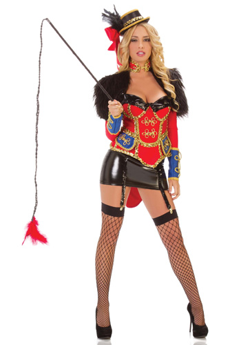 Sexy Circus Ring Leader Circus Costume