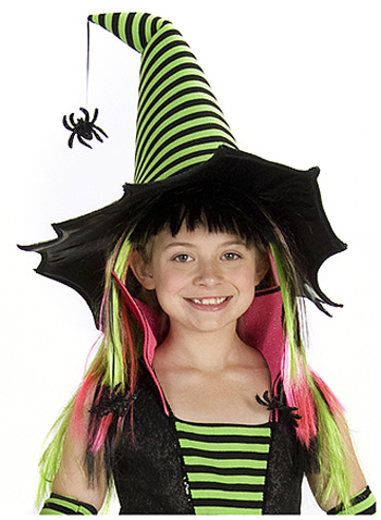 Spiderina Witch Wig - In Stock : About Costume Shop