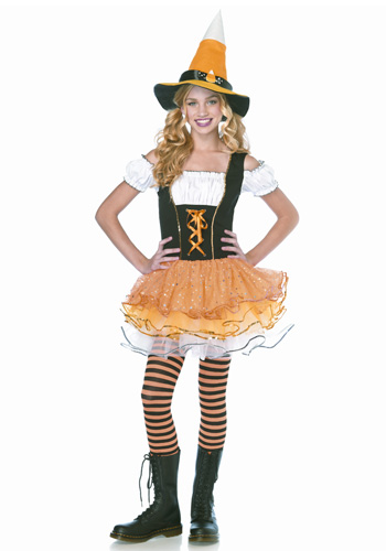Teen Sparkle Candy Witch Costume
