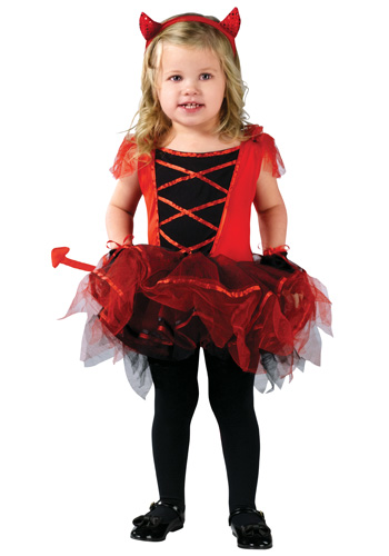 Toddler Devilina Costume