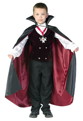 Toddler Boys Gothic Vampire Costume