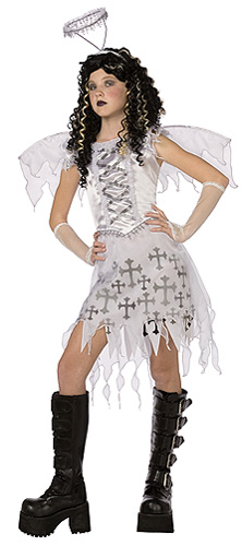 Tween Gothic Angel Costume