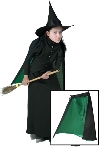Child Wicked Witch Cape
