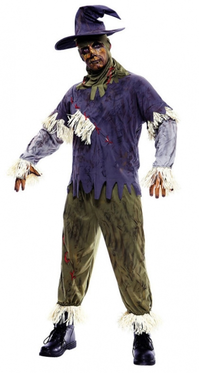 Scarecrow Adult Costume Large
