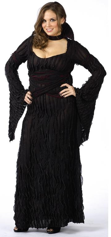 Graveyard Vampiress Plus Size Adult Costume