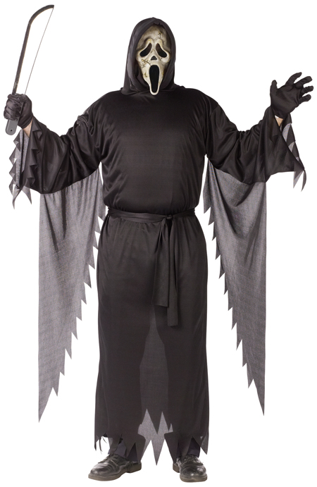 Zombie Ghost Face Adult Costume