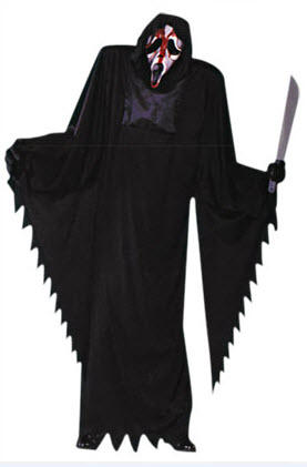 Bleeding Scream 7ft Adult Costume