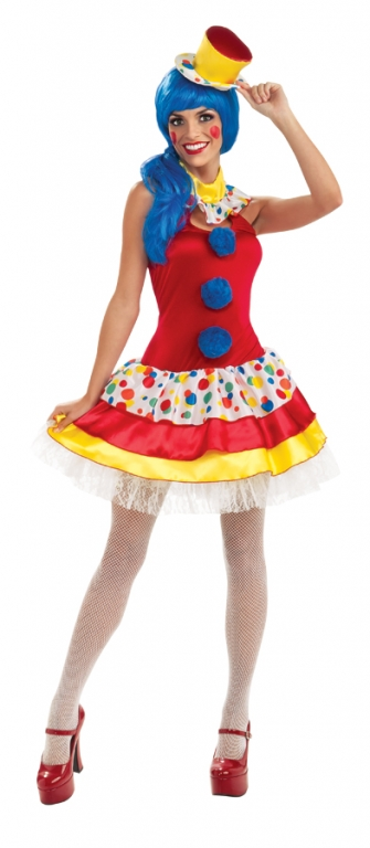 Giggles the Clown Circus Costume