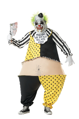 Tiny the Clown Adult Costume