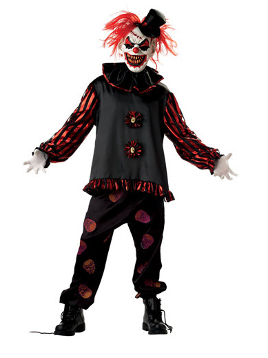 Carver The Killer Clown Adult Costume Large