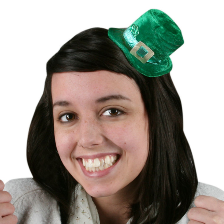Mini Plush Leprechaun Hat