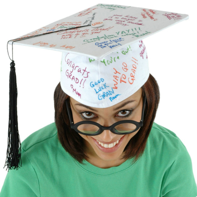 Signature Graduation Hat