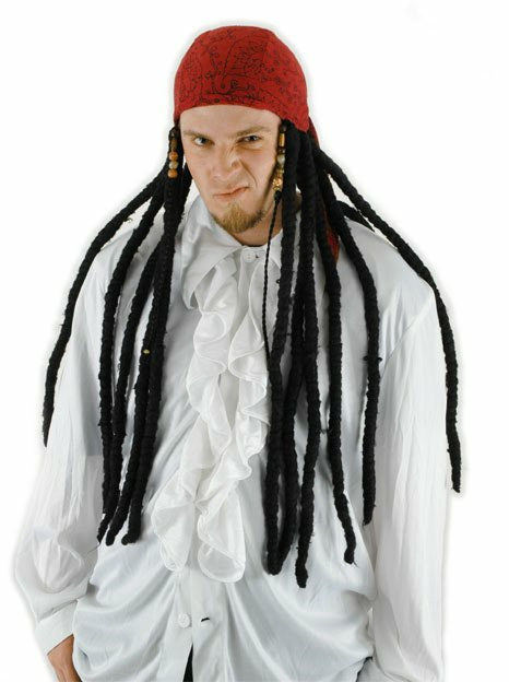 Pirate Scarf with Dreads