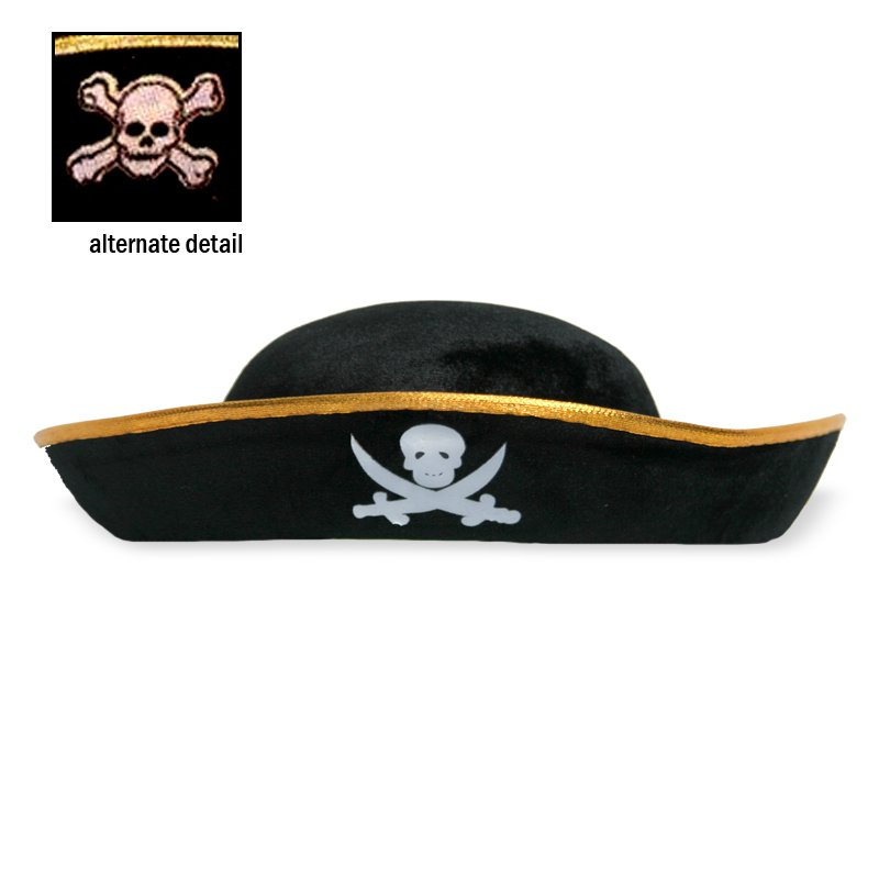 Pirate Hat, Econo Felt, One Size