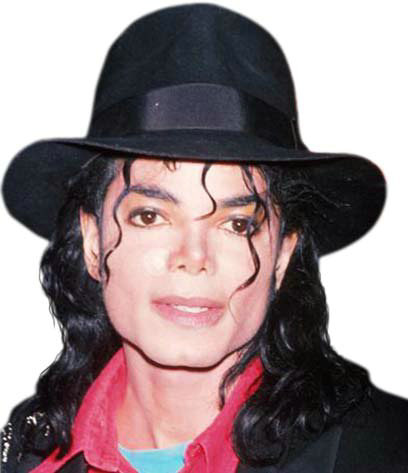 Michael Jackson Adult Black Fedora