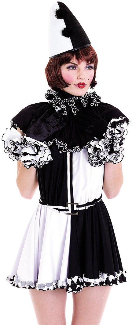 French Kiss Pierrot Hat Adult