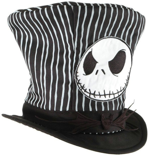 The Nightmare Before Christmas - Jack Top Hat Adult