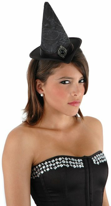 Cocktail Witch (Black) Hat Adult