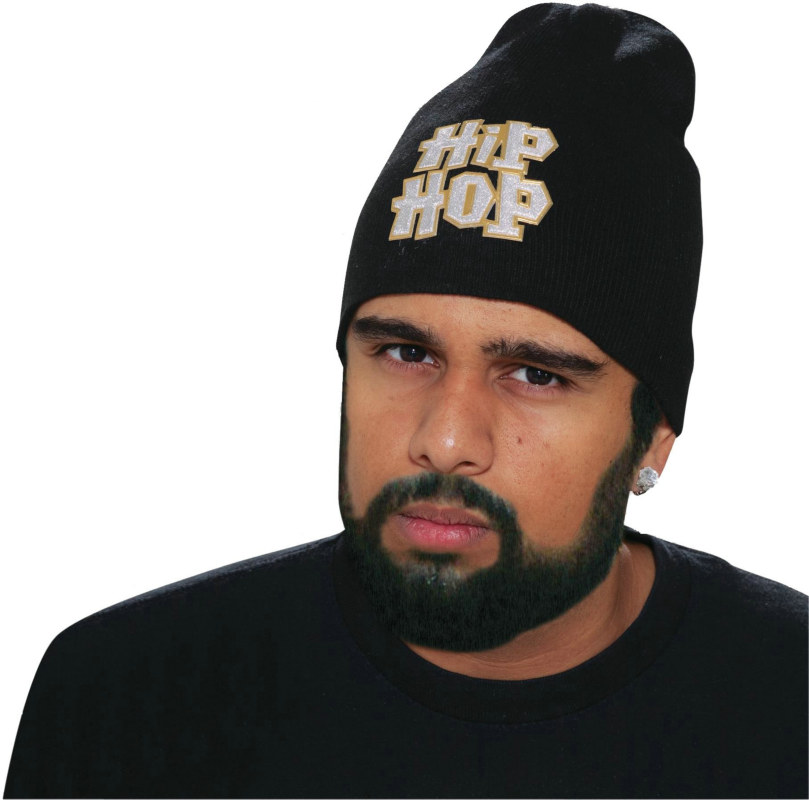 Hip Hop Skully Knit Adult Cap