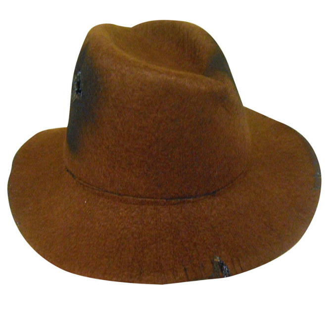 Nightmare on Elm Street Deluxe Freddy Krueger Fedora Teen