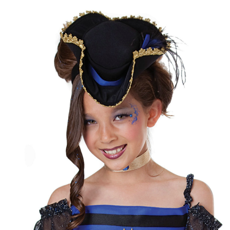 Punk Pirate Child Mini Hat - Click Image to Close