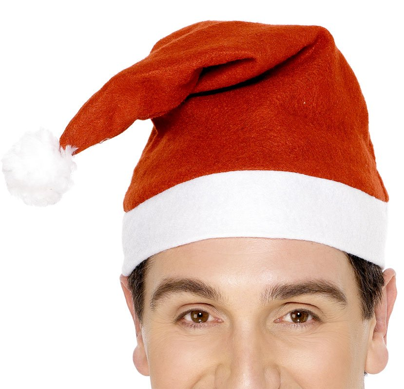 Economy Red Santa Hat Adult