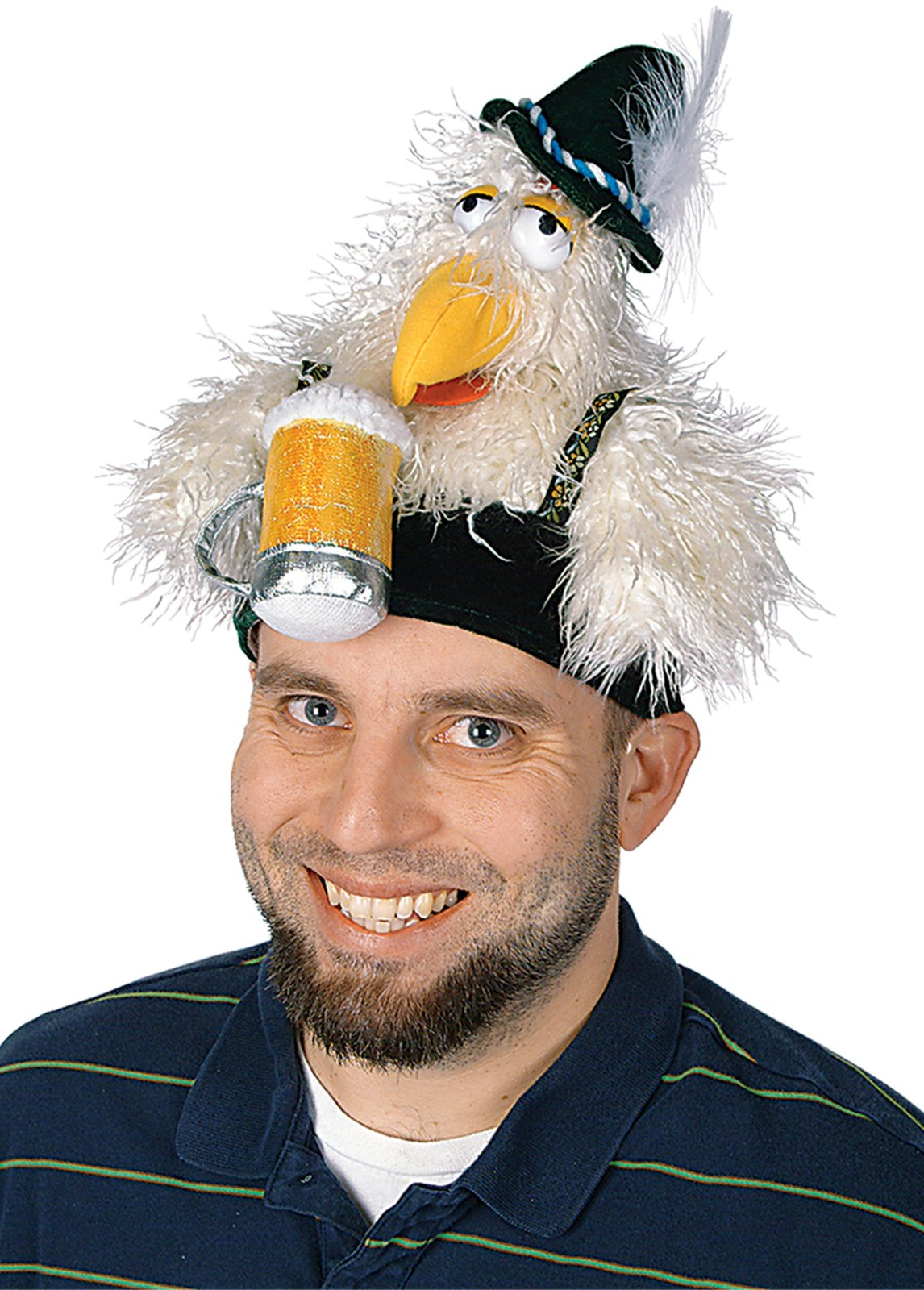 Oktoberfest - Plush Chicken Hat Adult