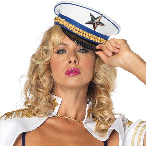 Deluxe Mini Captain Hat (Adult)
