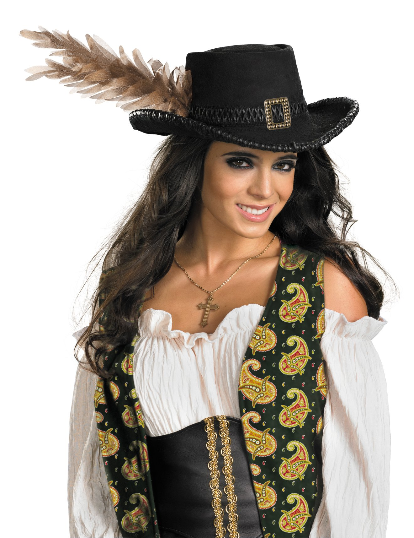 Pirates Of The Caribbean - Angelica Deluxe Pirate Hat (Adult)