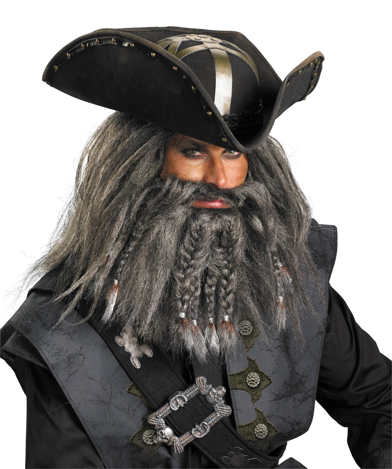 Pirates Of The Caribbean - Black Beard Deluxe Hat (Adult)