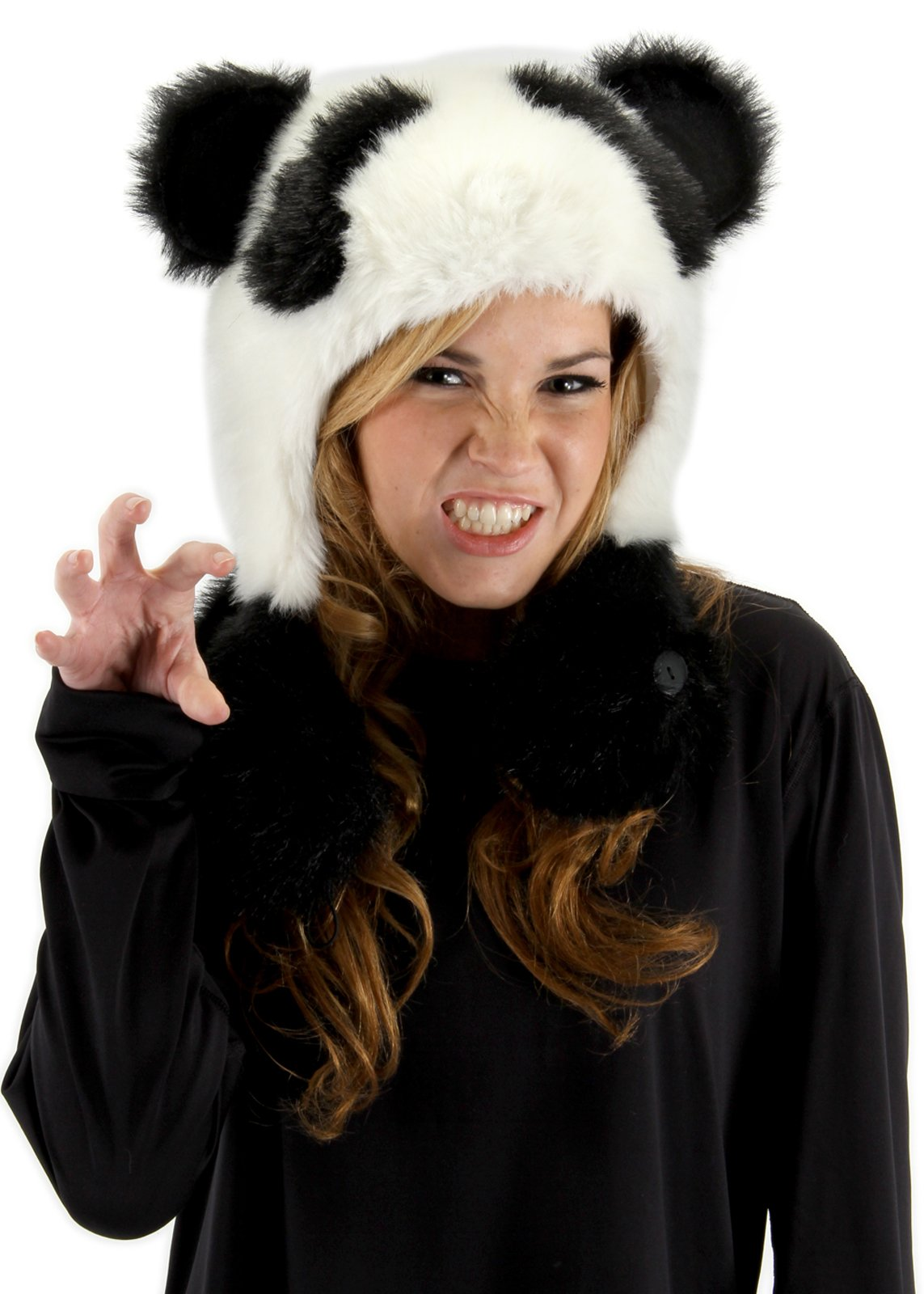 Panda Bear Hug Hat Adult