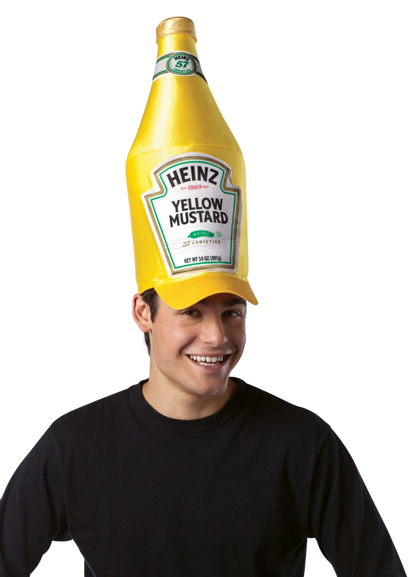 648ab2615c4 Heinz Classic Mustard Bottle Hat (Adult)  Costume Hats