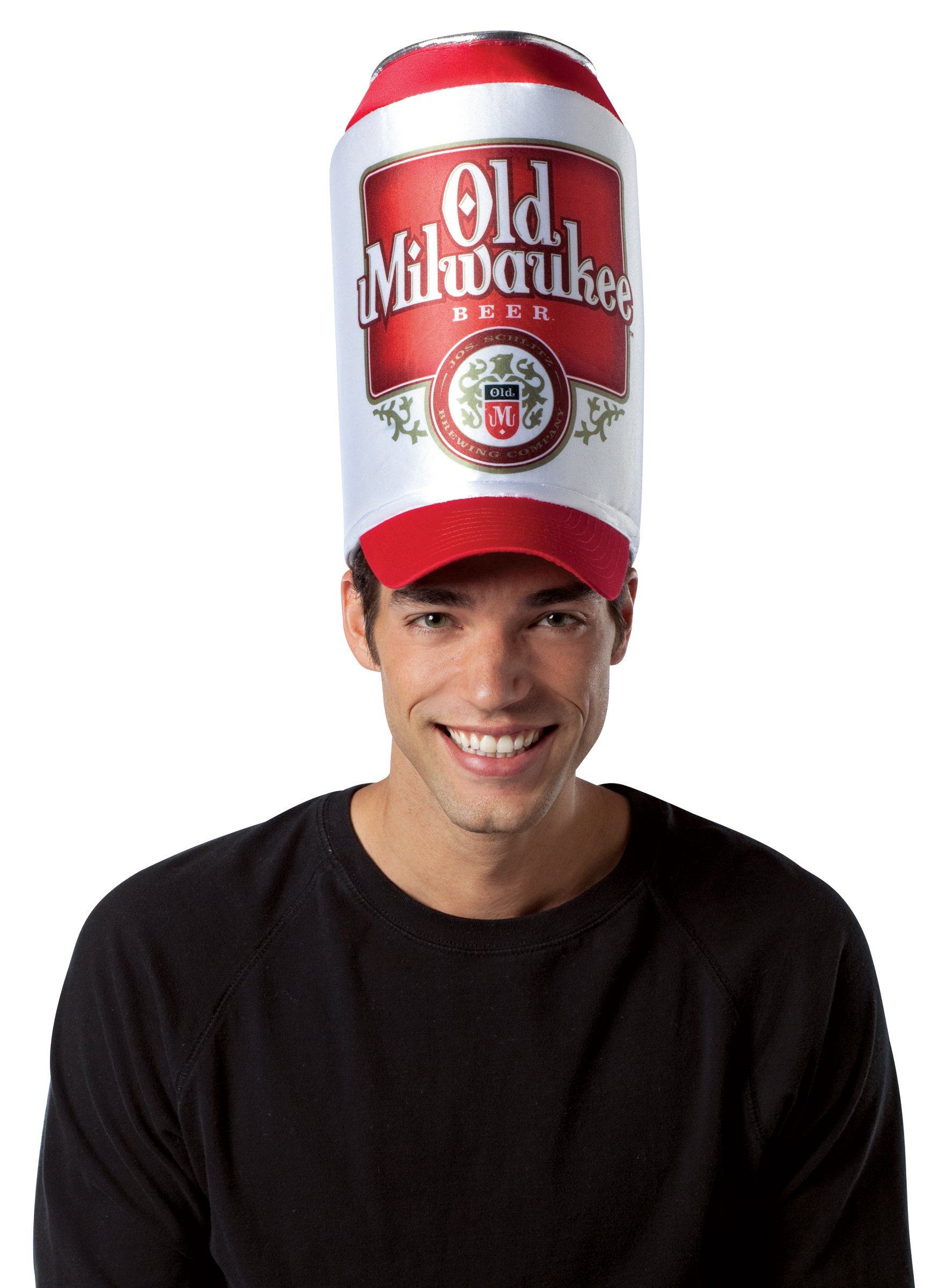 Old Milwaukee Beer Can Hat (Adult)