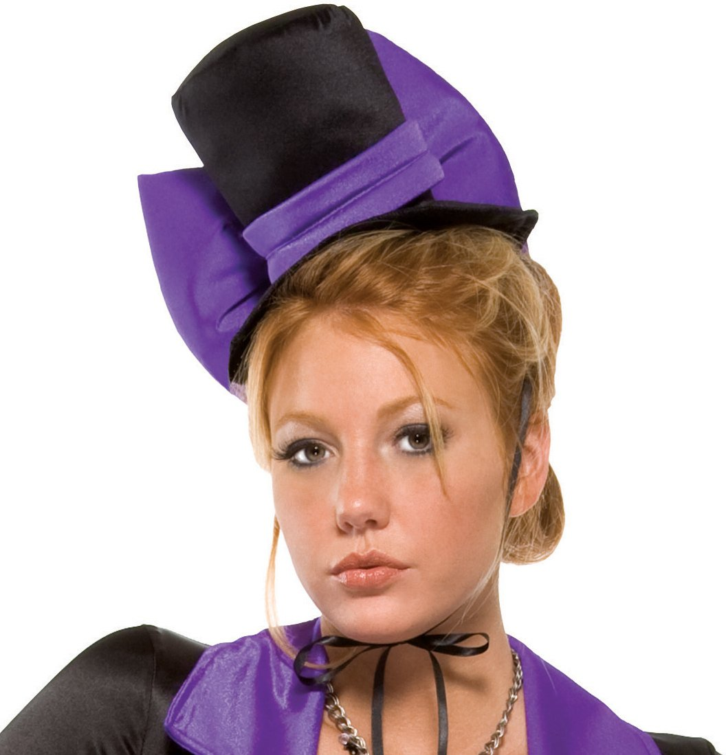 Purple Bow Vampire Hat (Adult)