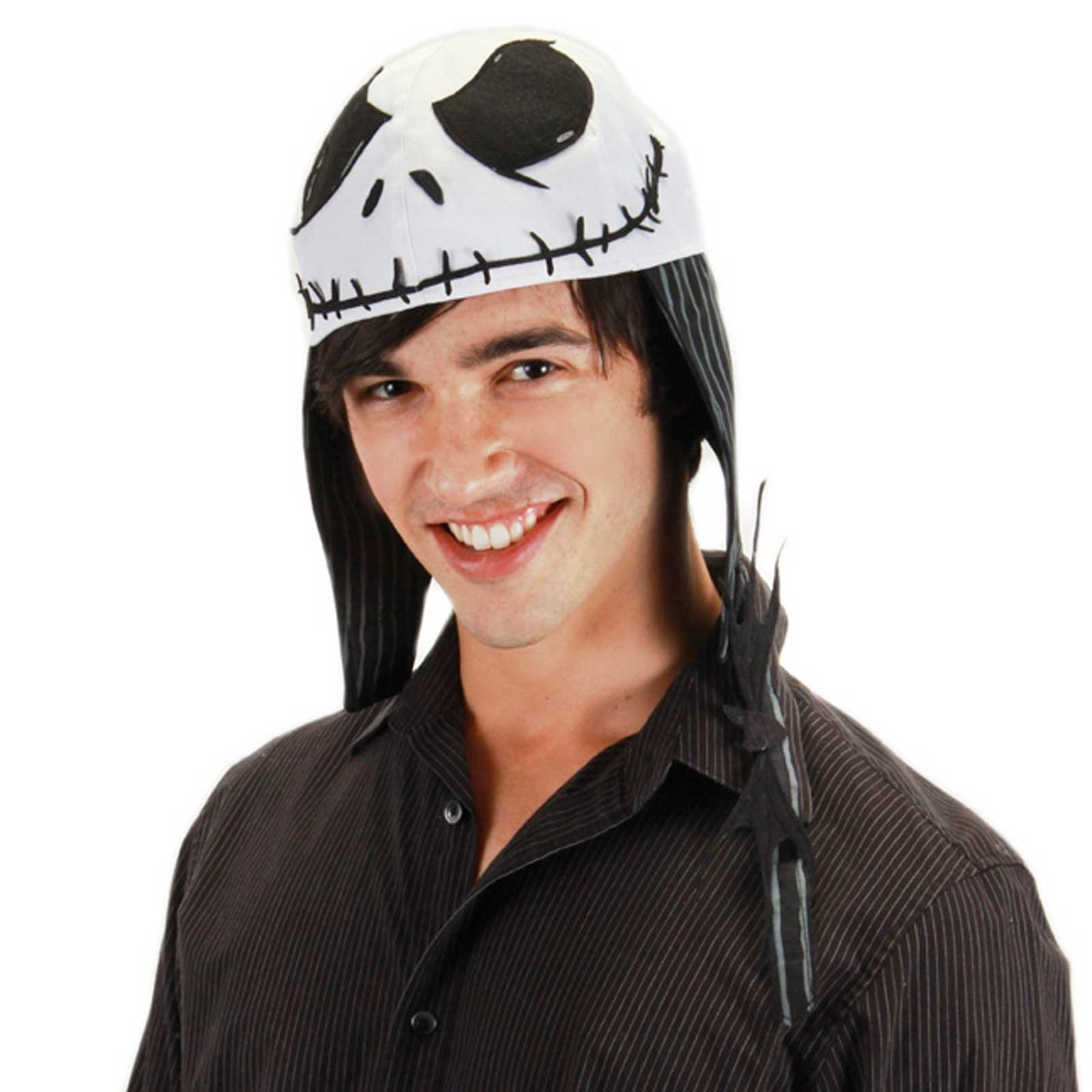 Jack Skellington Aviator Adult Hat